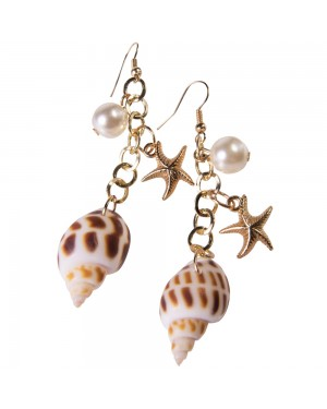 Mermaid Earrings at Fancy Dress and Party