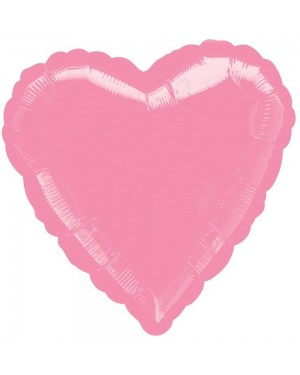 Metallic Foil Pink Heart Balloon at Fancy Dress and Party