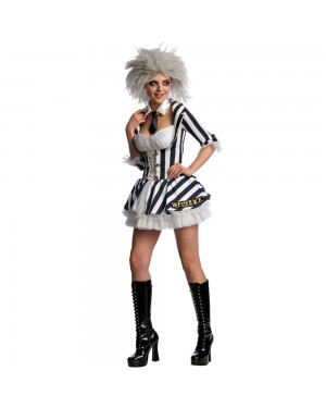 Miss Beetlejuice Costume at Fancy Dress and Party