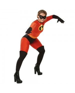 Mrs Incredible Costume at Fancy Dress and Party