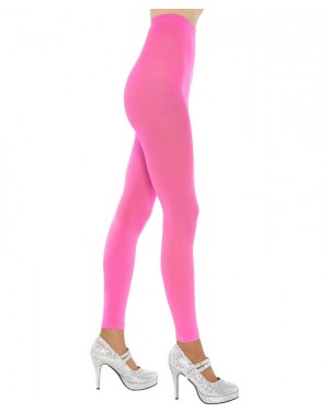 Neon Pink Tights at Fancy Dress and Party