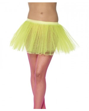 Neon Yellow Tutu at Fancy Dress and Party