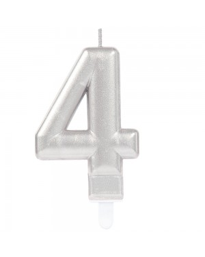 Number 4 Candle at Fancy Dress and Party