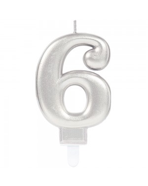 Number 6 Candle at Fancy Dress and Party