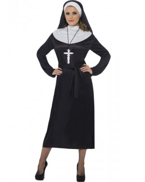 Nun Costume at Fancy Dress and Party