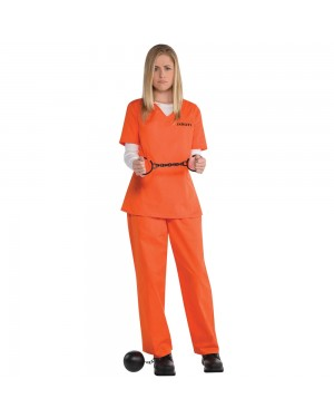 Orange Prison Outfit at Fancy Dress and Party