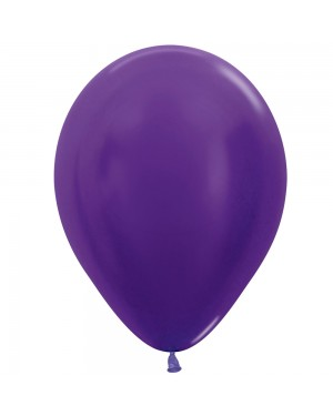 Pack of 25 Purple Balloons at Fancy Dress and Party
