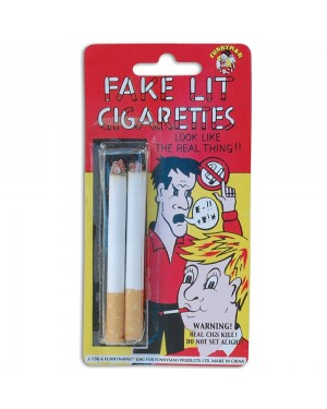 Pack of Fake Cigarettes at Fancy Dress and Party