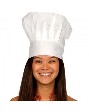Paper Chef Hat at Fancy Dress and Party