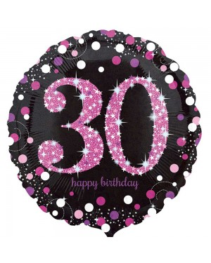 Pink 30th Birthday Balloon at Fancy Dress and Party