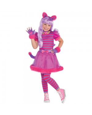 Pink Cheshire Cat at Fancy Dress and Party