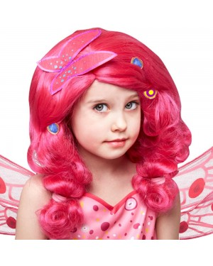 Pink Mia Wig at Fancy Dress and Party