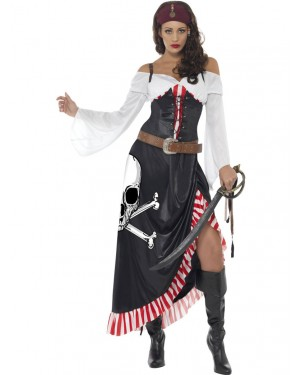 Pirate Dress Front at Fancy Dress and Party