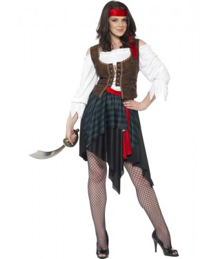 Pirate Woman at Fancy Dress and Party