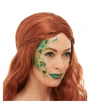 Poison Ivy Makeup at Fancy Dress and Party