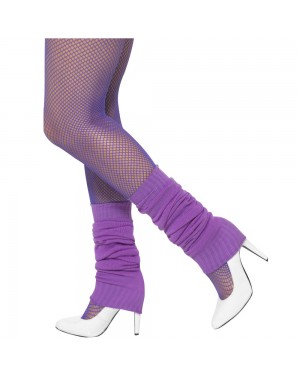 Purple Legwarmers at Fancy Dress and Party