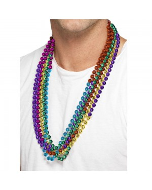 Rainbow Party Beads at Fancy Dress and Party