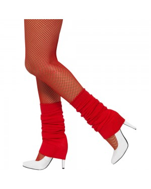 Red Legwarmers at Fancy Dress and Party