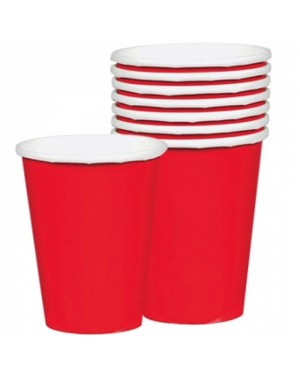Red Paper Cups at Fancy Dress and Party
