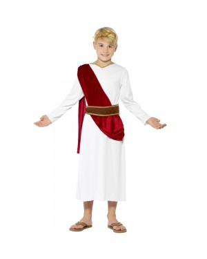 Roman Boy Costume Front View at Fancy Dress and Party