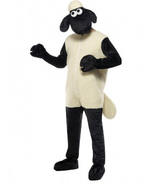 Shaun the Sheep Costume Front View at Fancy Dress and Party