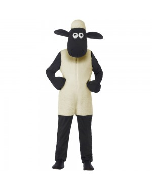 Shaun the Sheep Kids Costume Front View at Fancy Dress and Party