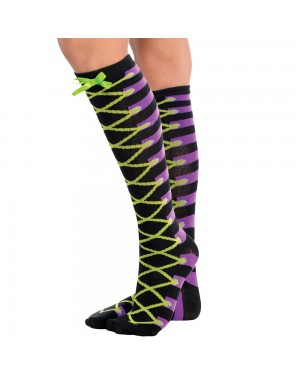 Shoe Lace Socks at Fancy Dress and Party