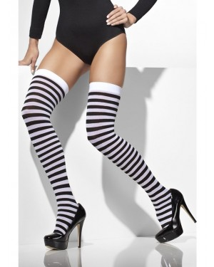 Striped Stockings at Fancy Dress and Party