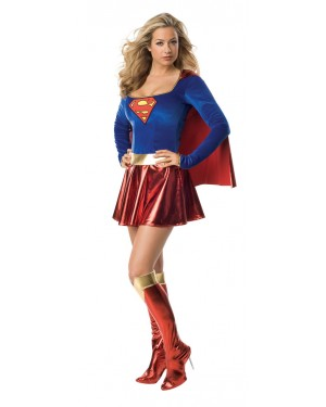 Supergirl Costume at Fancy Dress and Party