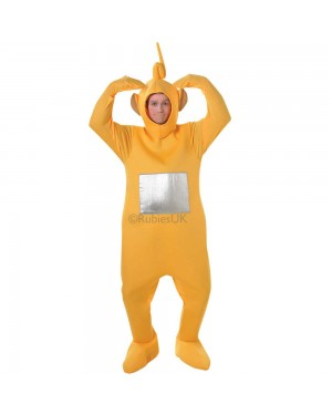 Teletubby Laa Laa Costume at Fancy Dress and Party