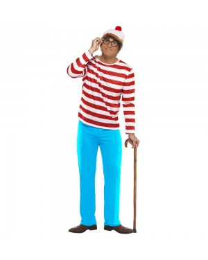 Where's Wally Costume at Fancy Dress and Party