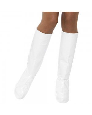 White Boot Covers at Fancy Dress and Party