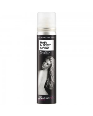White Hair and Body Spray at Fancy Dress and Party