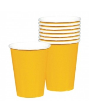 Yellow Paper Cups at Fancy Dress and Party