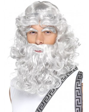 Zeus Wig at Fancy Dress and Party