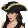 Black Pirate Hat Womens View at Fancy Dress and Party