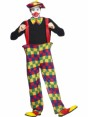 Clown Outfit Alternative View at Fancy Dress and Party