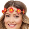Daisy Headbands Red View at Fancy Dress and Party