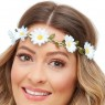 Daisy Headbands White View at Fancy Dress and Party