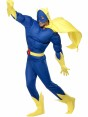Deluxe Bananaman Costume Side View at Fancy Dress and Party