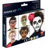 Halloween Make Up Facepaint Kit Packaging at Fancy Dress and Party