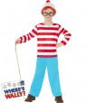 Kids Where's Wally Costume Front at Fancy Dress and Party