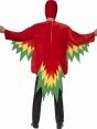 Parrot Costume Back View at Fancy Dress and Party