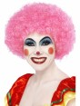 Pink Afro Wig Alt at Fancy Dress and Party