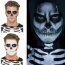 Skeleton Make Up 'How to' at Halloween Fancy Dress and Party