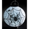 Spider Web Halloween LED Lantern Alternative View at Fancy Dress and Party
