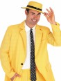 Yellow Suit Costume Closeup at Fancy Dress and Party