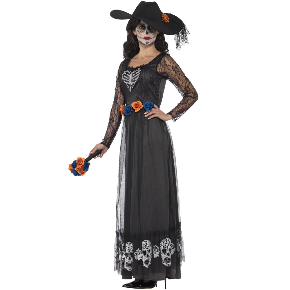 day of the dead mexican bride outfit - fancy dress and party