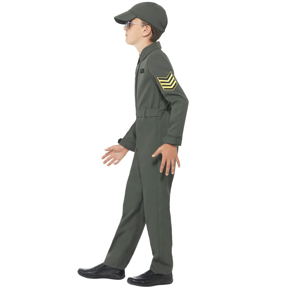 sc 1 st  Fancy Dress and Party & Kids Aviator Costume- Fancy Dress and Party