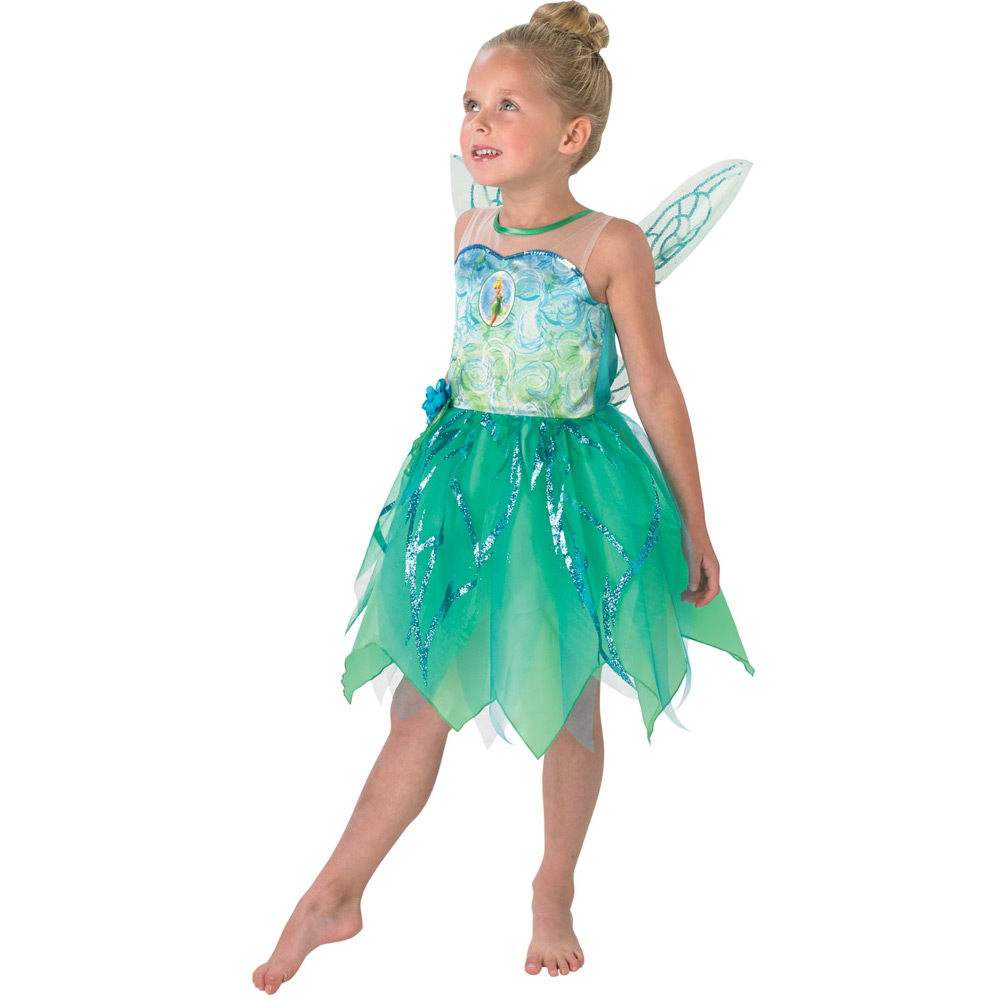 Kids Pixie Tinkerbell Costume - Fancy Dress and Party